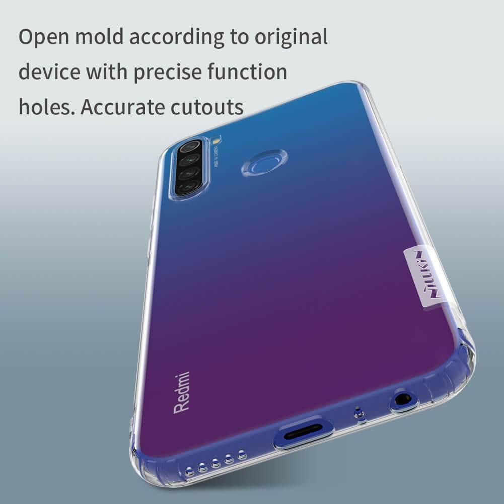Redmi Note 8T Nature TPU hulstur