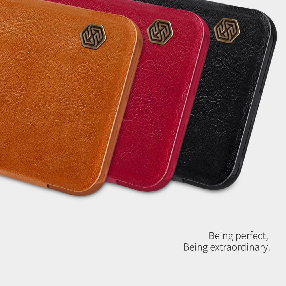 Redmi Note 8T Qin Leather leðurhulstur